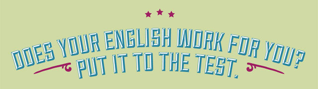 does-your-english-work-for-you